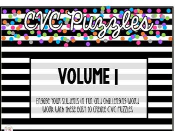 CVC Puzzles: VOL. 1