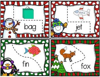 Winter CVC Puzzles