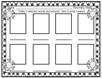 winter cvc puzzles by jennifer drake teachers pay teachers. Black Bedroom Furniture Sets. Home Design Ideas