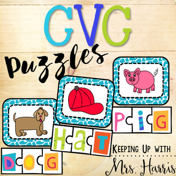 CVC Puzzles and Pictures