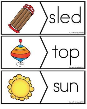 CVC Puzzles for Kindergarten
