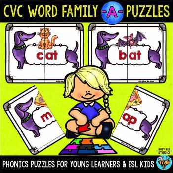 CVC Puzzles (short A)