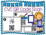 QR Code Literacy Center & Write the Room Activity: CVC Words