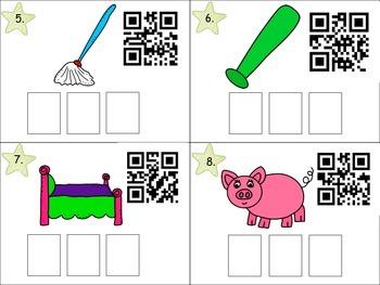 CVC QR Code Write the Room Activity!