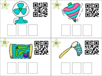 CVC QR Code Write the Room Activity!