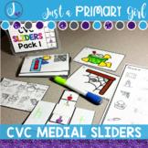 CVC Medial Sound QR Codes