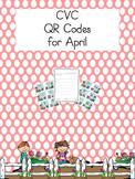 CVC QR Codes for April