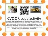 CVC QR code activity