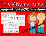 CVC RHYMING CUT AND PASTE