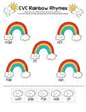 CVC Rainbow Rhymes