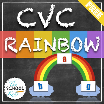 CVC Rainbow- Segmenting and Blending for CVC Words