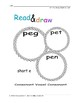 CVC Read & DRAW including Homophones and Anagrams! Ages 4+