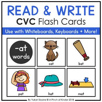 CVC Read & Write - CVC Flashcards