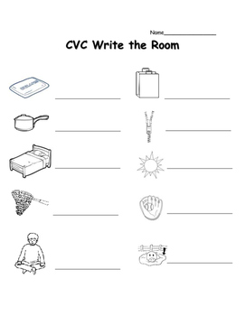 CVC Read & Write the Room