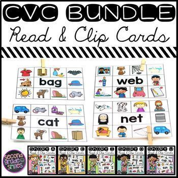 CVC Read and Clip Cards