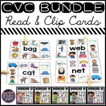 CVC Read and Clip Cards
