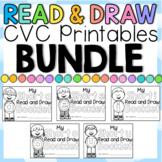 CVC Read and Draw BUNDLE