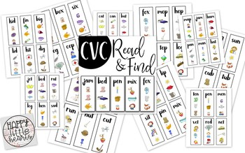 CVC Read and Find
