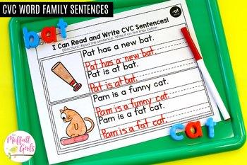 CVC Read and Fix it Up Sentences!