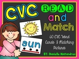 CVC Read and Matching Card Game