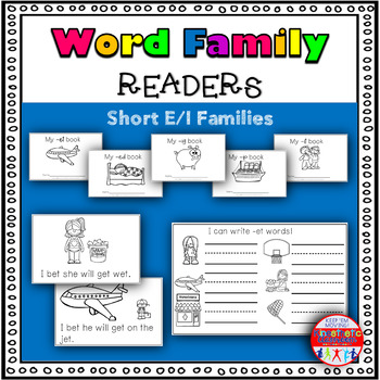 Emergent Readers for CVC Words: Short E/I Set