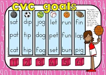 CVC Reading Games Pack