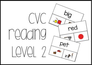 CVC Reading Level 2 Task Box Activity #btsfresh
