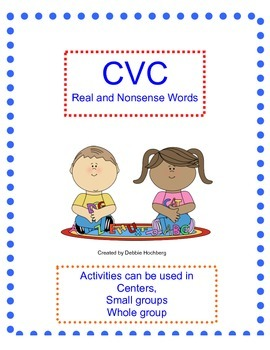 CVC Real and Nonsense Word Activities