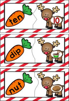 CVC Reindeer Match
