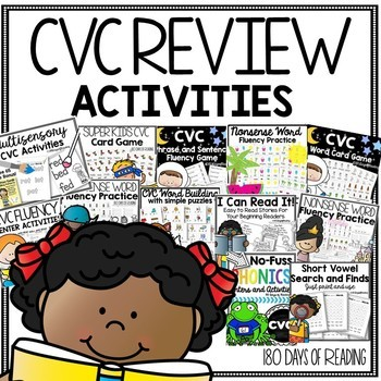 End of the Year CVC Review Bundle