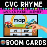 CVC Rhyme Boom Cards