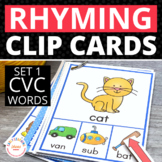 Rhyming Activity for Kids | Interactive CVC Rhyming Words