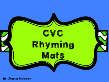 CVC Rhyming FREEBIE
