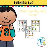 CVC Rhyming Game