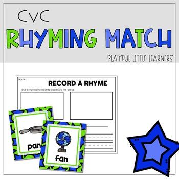 CVC Rhyming Match
