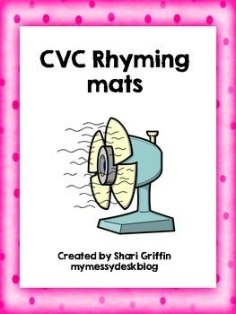 CVC Rhyming Mats