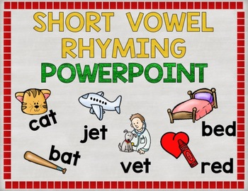 CVC Rhyming PowerPoint Game