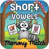 Short Vowel CVC Rhyming Words Memory Match ~ Interactive PowerPoint Game