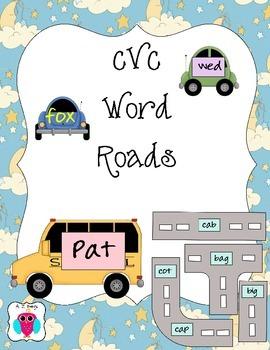 CVC Word Roads