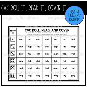 CVC Roll It, Read It, Cover It