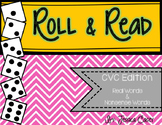 CVC Roll & Read- Real Words & Nonsense Words