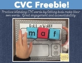 CVC - Roll a Word!