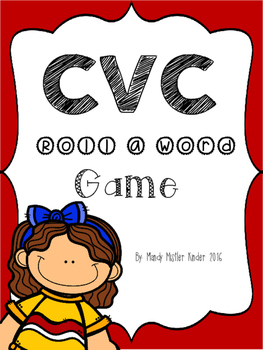 CVC Roll a Word Game