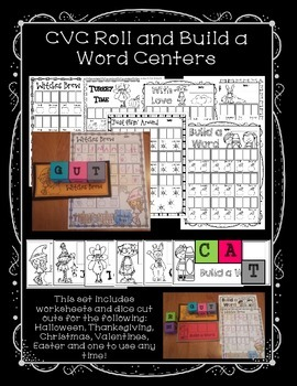 CVC Roll and Build a Word