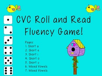 CVC Roll and Read