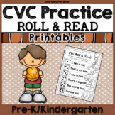 CVC Roll and Read No-Prep Packet