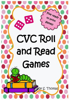 CVC Roll and Read games