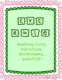 CVC Rule-Task Cards-Activity-Worksheet-Spelling Lists