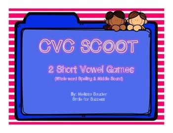 Short Vowel SCOOT  {2 Different Games!}