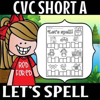 CVC SHORT A SPELL